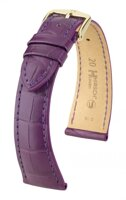 Hirsch London -  darkviolet aligator