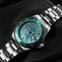Steinhart Ocean One 39 Green mother of pearl