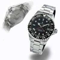 Steinhart GMT-Ocean One 39 Black ceramic