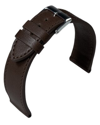 Barington - Bauhaus - dark brown - leather strap