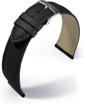 Barington - Fancy classic - black - leather strap