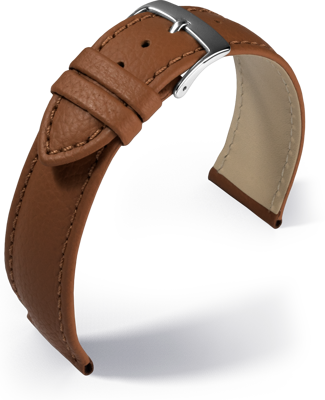 Barington - Fancy classic - golden brown - leather strap