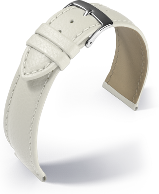 Barington - Fancy classic - white - leather strap