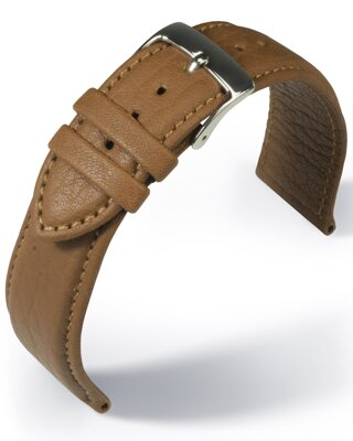 Barington - Imperator Shrunk - Waterproof - golden brown - leather strap