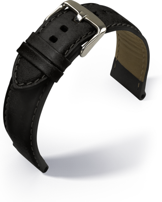 Barington - Verona - black - leather strap