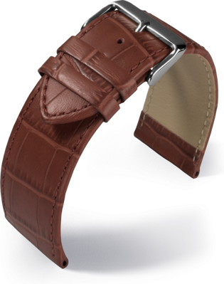 Eulit - Big fashion - golden brown - leather strap