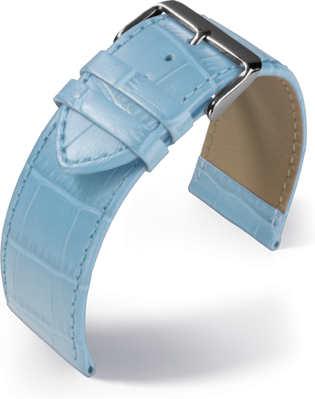 Eulit - Big fashion - light blue - leather strap