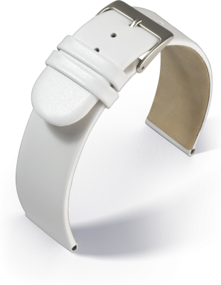 Eulit - Calf - white - leather strap