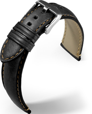 Eulit - Florence - black - leather strap