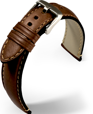 Eulit - Florence - dark brown - leather strap