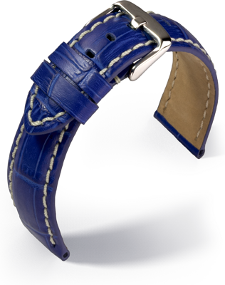 Eulit - Guinea Chrono - royal blue - leather strap