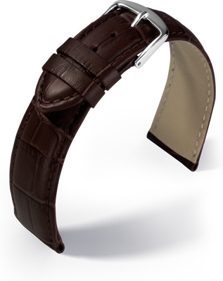 Eulit - Guinea - dark brown - leather strap