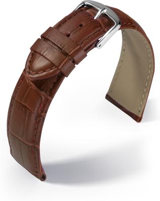 Eulit - Guinea - golden brown - leather strap