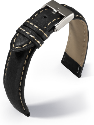 Eulit - Imola - black - leather strap
