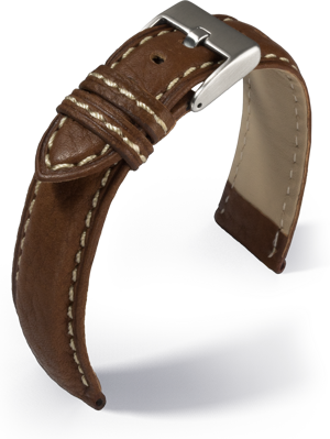 Eulit - Imola - medium brown - leather strap