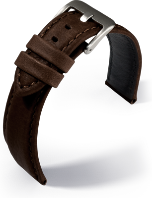 Eulit - Montreal - dark brown - leather strap