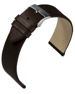 Eulit - Nappa - dark brown - leather strap
