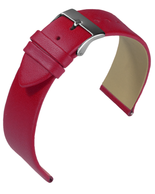 Eulit - Nappa - red - leather strap