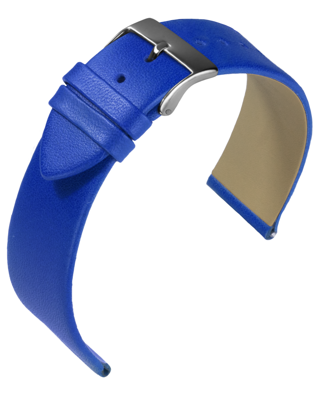 Eulit - Nappa - royal blue - leather strap