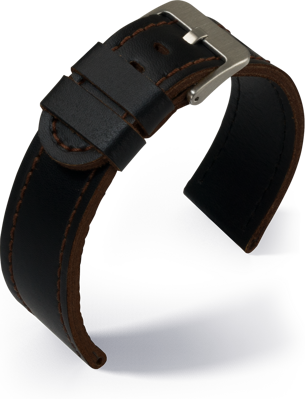 Eulit - Olymp- dark brown - leather strap
