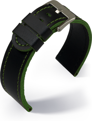 Eulit - Olymp- green - leather strap
