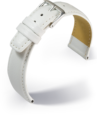 Eulit - Oregon - white - leather strap