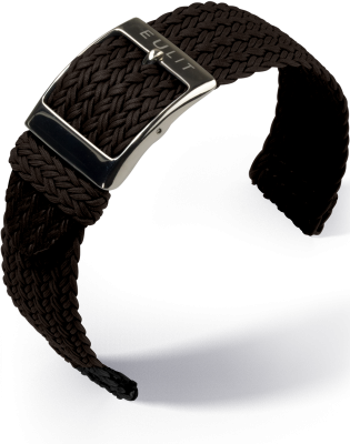 Eulit - Palma Pacific - Perlon two piece - dark brown - nylon strap
