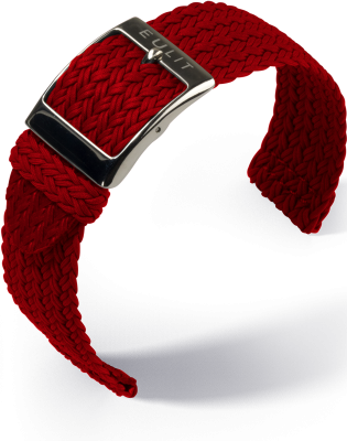 Eulit - Palma Pacific - Perlon two piece - red - nylon strap