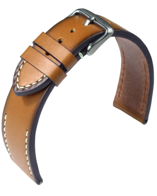 Eulit - Woodstock - nature - leather strap