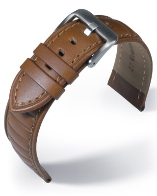Eulit - Sailwing - medium brown - leather strap