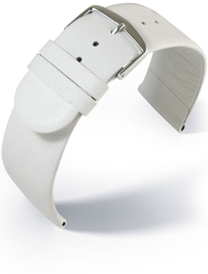 Eulit - Sheep Nappa - white - leather strap