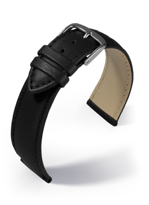 Eulit - Taurus - black - leather strap