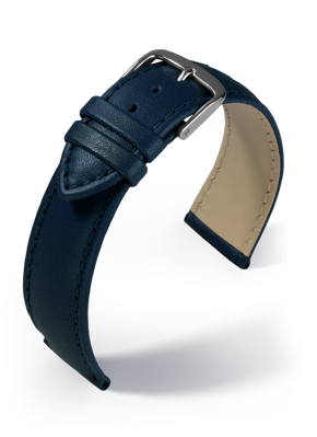 Eulit - Taurus - blue - leather strap