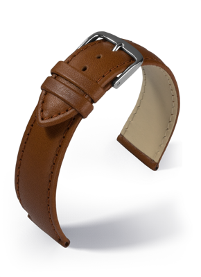 Eulit - Taurus - medium brown - leather strap