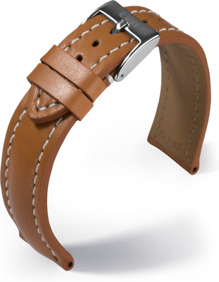 Eulux - Buffalo - nature - leather strap