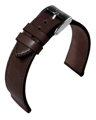 Eulux - Shell Cordovan - bordeaux - leather strap