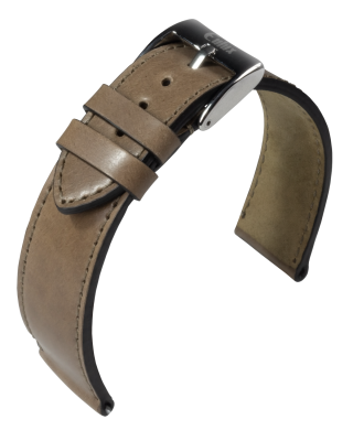 Eulux - Shell Cordovan - camel - leather strap