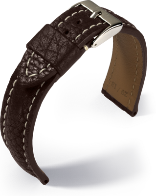Eulux - Imperator - dark brown - leather strap