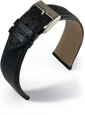Eulux - Olive - black - leather strap