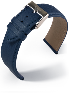 Eulux - Olive - blue - leather strap