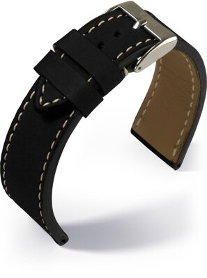 Eulux - Yak - black - leather strap