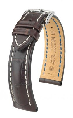 Hirsch Capitano - brown - leather strap