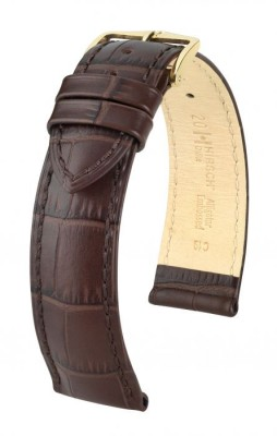 Hirsch Duke - brown - leather strap