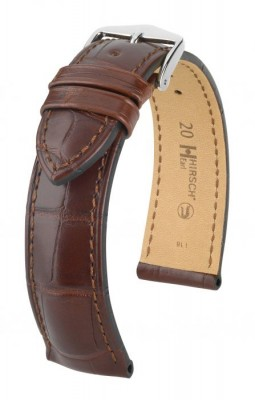 Hirsch Earl - brown - leather strap