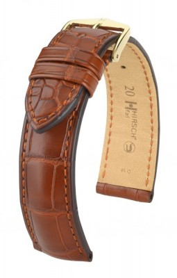 Hirsch Earl - golden brown - leather strap