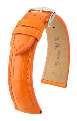 Hirsch Earl - orange  - leather strap