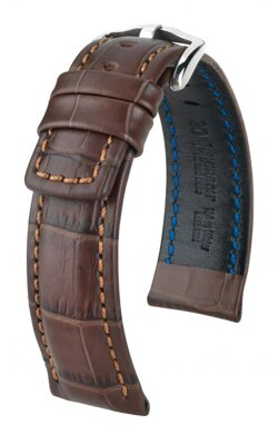 Hirsch Grand Duke - brown - leather strap