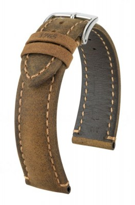 Hirsch Heritage - golden brown - leather strap