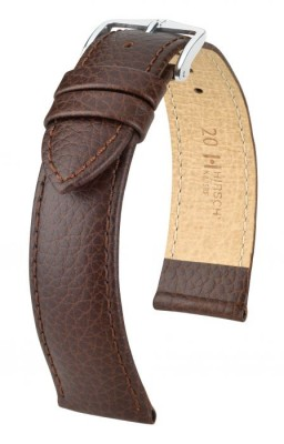 Hirsch Kansas - brown - leather strap