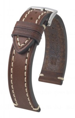 Hirsch Liberty - brown - leather strap